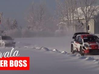 Rovanperä chassé par Latvala en Yaris GR