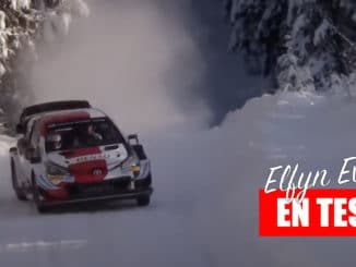 Toyota Gazoo Racing en tests pour l'Arctic Rally Finland