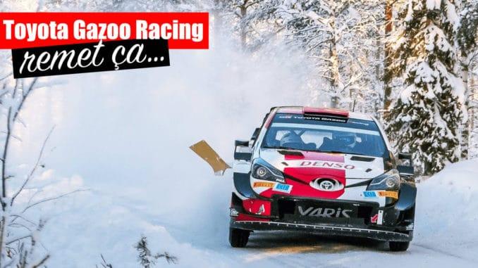 Toyota poursuit studieusement ses tests avant l'Arctic Rally Finland