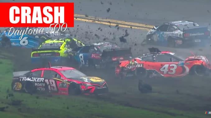 Un premier Crash rapide au Daytona 500