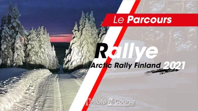 les spéciales de l'Arctic Rally Finland 2021
