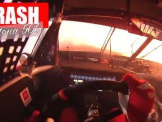 vidéo Le crash du Daytona 500 de l'intérieur