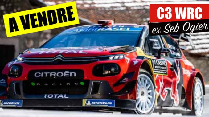 Combien coût une Citroën C3 WRC
