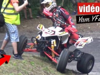 Du show en Yamaha YFZ 450