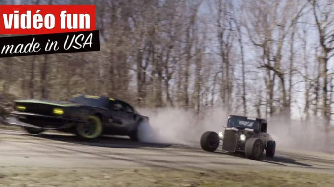 Hot Road vs FordMustang RTR-X