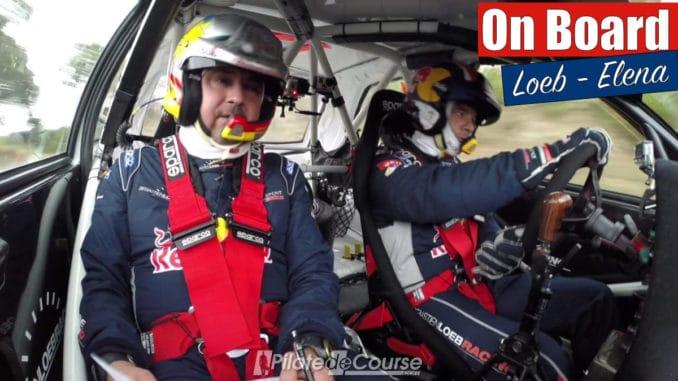 Loeb et Elena en 306 Maxi au Rallye du Var