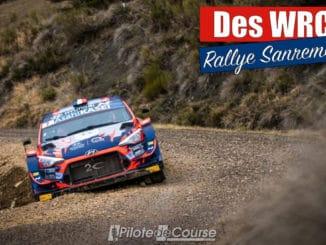 Loubet, Tanak et Neuville au Rallye Sanremo
