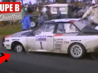 Mikkola le finlandais volant et son Audi Quattro