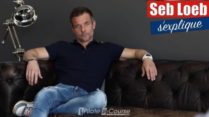 Sébastien Loeb s'explique suite à sa séparation avec Daniel Elena