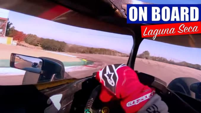 Un tour de Laguna Seca avec Grosjean