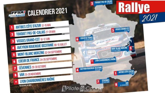 Calendrier Championnat De France Des Rallyes 2022 Nouveau calendrier pour le Championnat de France des Rallyes 2021