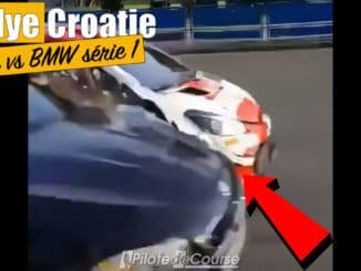 Accident sur le routier pour Ogier en Croatie