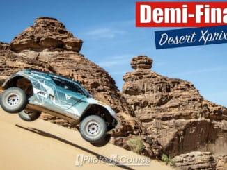 Demi-finales du Desert X Prix 2021