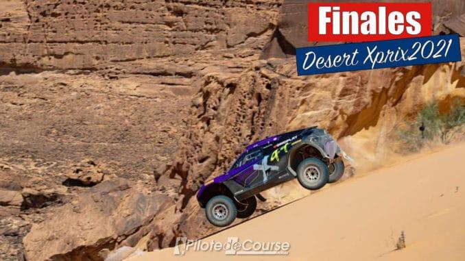 Finale du Desert X Prix 2021