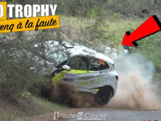 Guillaume Canivenq à la faute au Rallye Sierra Morena 2021