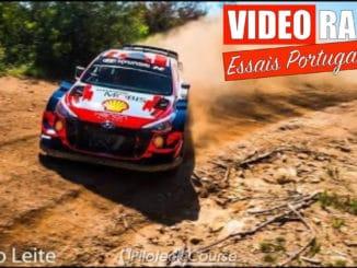 Hyundai déjà en tests pour le Rallye du Portugal