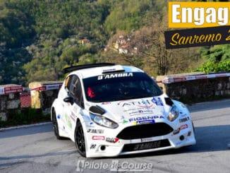 Liste des engagés au Rally Sanremo 2021