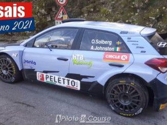 Oliver Solberg débute ses tests pour le Rally Sanremo
