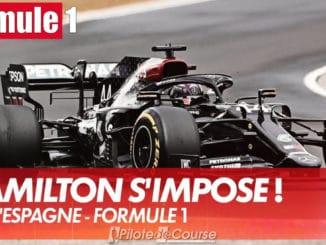 Hamilton s'impose au GP d'Espagne de F1 2021