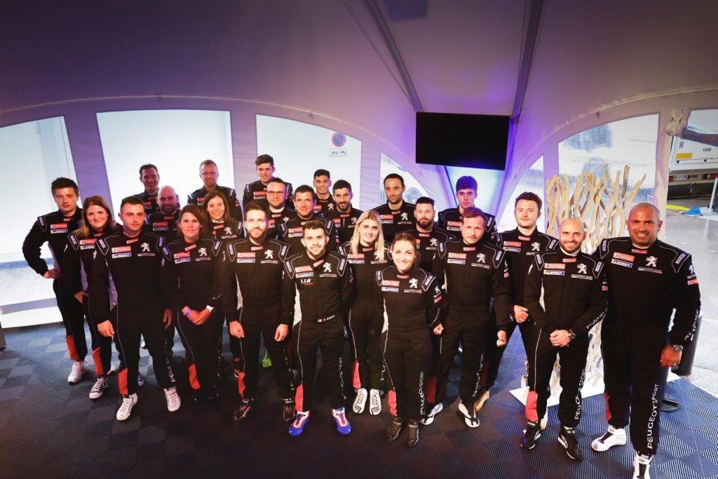 La promotion 2021 de la 208 Rally Cup