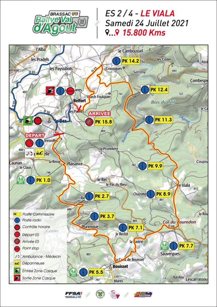 ES2 Le Vialla Rallye Val d'Agout 2021
