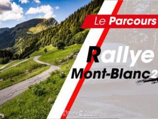 Le parcours et les spéciales du Rallye Mont-Blanc 2021